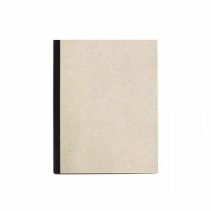 Notepad grass paper – blank with black strip
