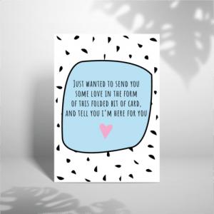 Sending Love – A5 Greeting Card