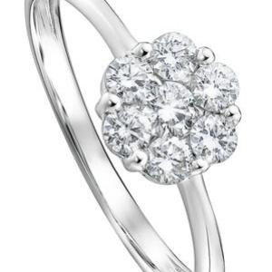 The Reese Ring – Created Brilliance 9ct White Gold