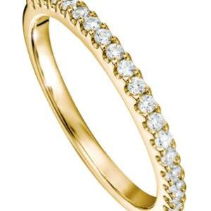 The Odette Ring – Created Brilliance 9ct Yellow Gold