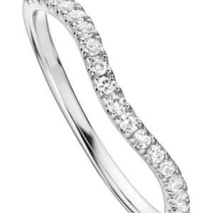The Layla Ring – Created Brilliance 9ct White Gold