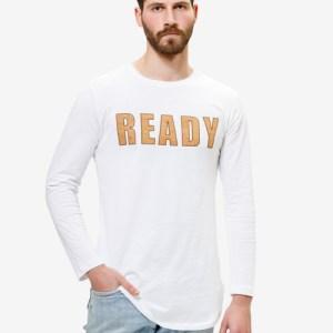 READY Mens Top – White