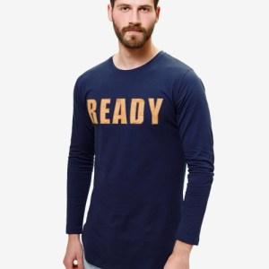 READY Mens Top – Navy Blue