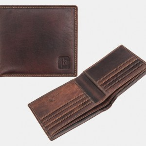Lazio Trifold Brown Wallet - 4701 - 4700 br ph 500x500