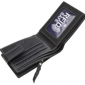 Lazio Bifold Black Wallet - 4744 - 4744 bl l 4 500x500