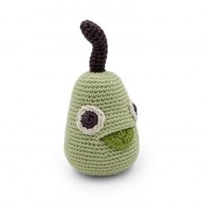 William Pear – Baby Rattle 100% Organic Coton