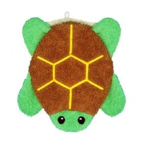 Organic Washing Cloths Land Turtle Small
