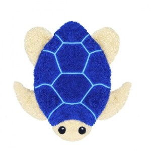 Organic Washing Cloths Sea Turtle Small