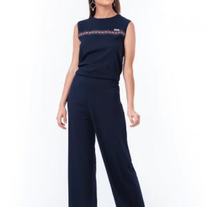 Navy blue jumpsuit