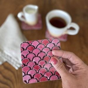 Coaster Pink Ida Lilja Melamine