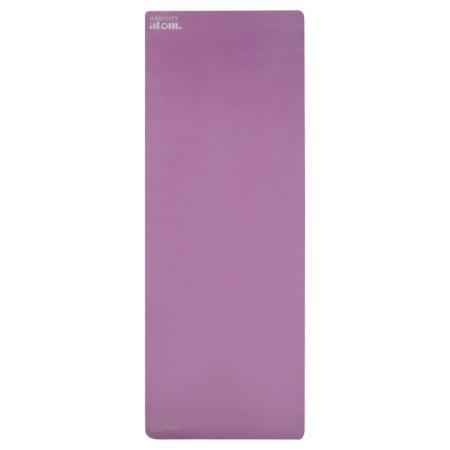 sustainable purple yoga mat