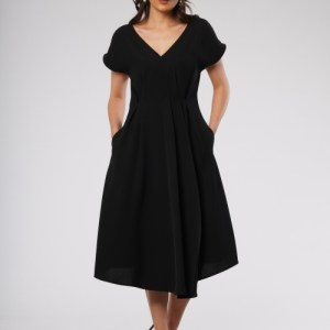 Florence Dress in Black Colour