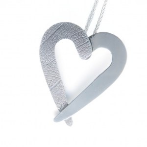 Silver Heart Necklace, Sterling Silver Heart Pendant with Chain,  Gift Boxed and Hallmarked, Made in Scotland