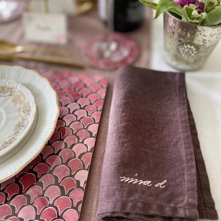 Linen Napkin Handmade