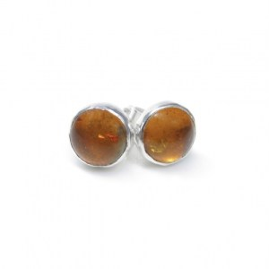 Amber Gemstone Earrings
