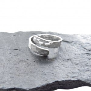 D340-Silver Dimple Ring