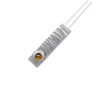 B214-Amber pendant