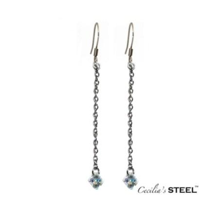 Crystal Whispers Earrings