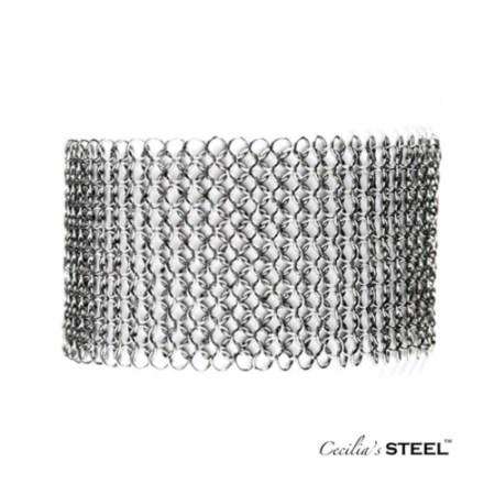 Stainless steel choker necklace bracelet