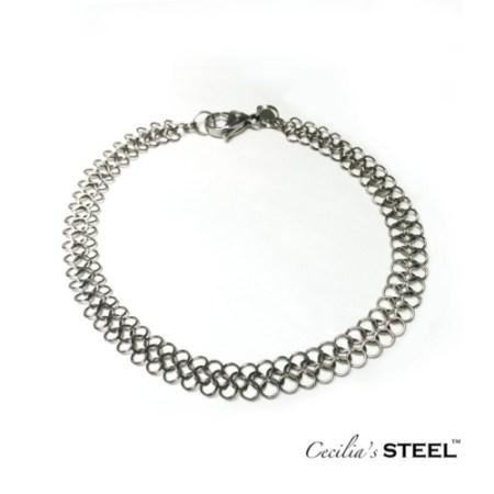 Cecilia's Steel stainless steel bracelet