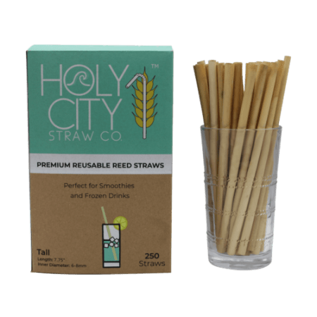 Reed Drinking Straw   Box of 250