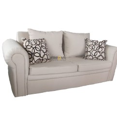 2 Seater Love Chair Plush Leather Office Sofa Seat Lavender Toko Jual Furniture