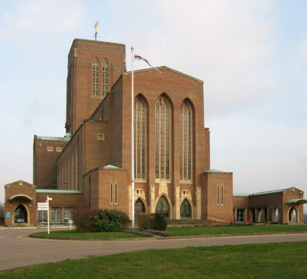 Abseil Down Guildford Cathedral