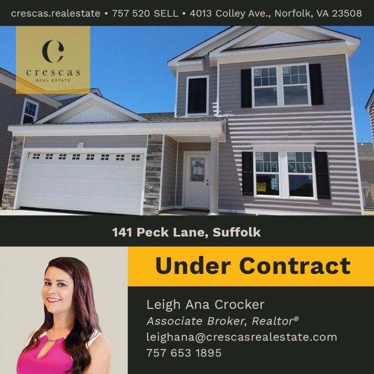 141 Peck Lane Suffolk - Under Contract