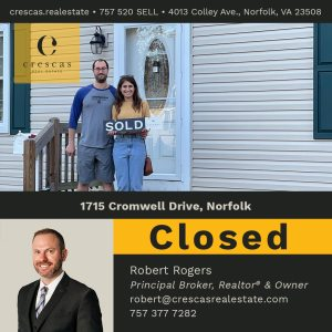 1715 Cromwell Drive Norfolk - Closed