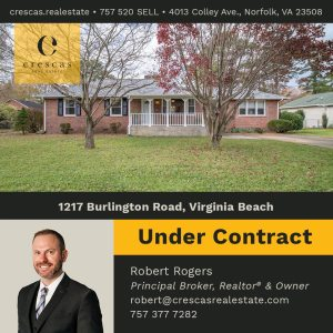1217 Burlington Road Virginia Beach - Under Contract