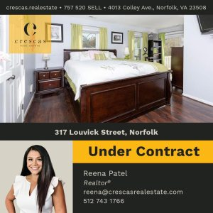 317 Louvick Street Norfolk - Under Contract