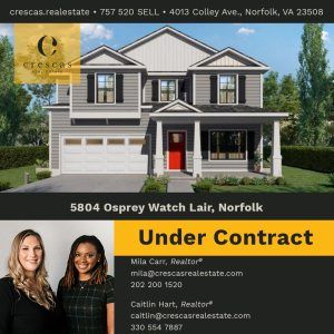 5804 Osprey Watch Lair Norfolk - Under Contract