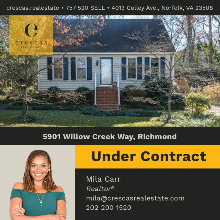 5901 Willow Creek Way Richmond - Under Contract