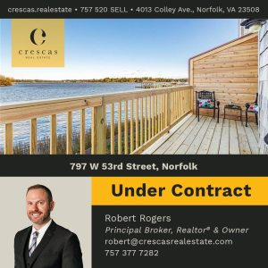 797 W 53rd Street Norfolk - Under Contract