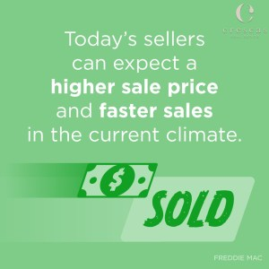 Expect a higher sale price and faster sale