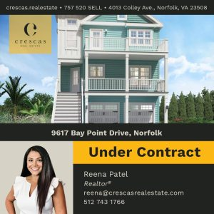 9617 Bay Point Drive Norfolk - Under Contract