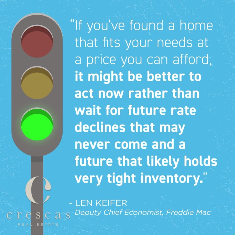 Now is the time to buy your home