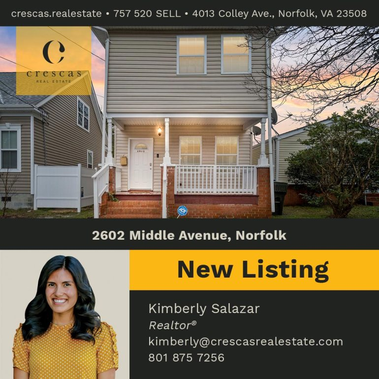 2602 Middle Avenue Norfolk - New Listing