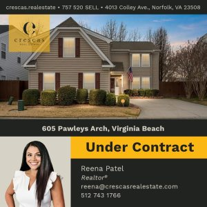 605 Pawleys Arch Virginia Beach - Under Contract