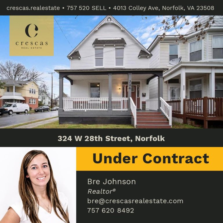 324 W 28th Street Norfolk - Under Contract