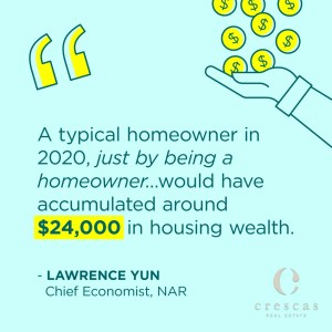 Homeownership is the best way to develop wealth