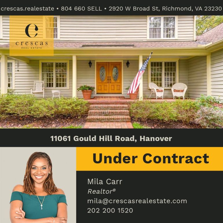 11061 Gould Hill Road Hanover - Under Contract