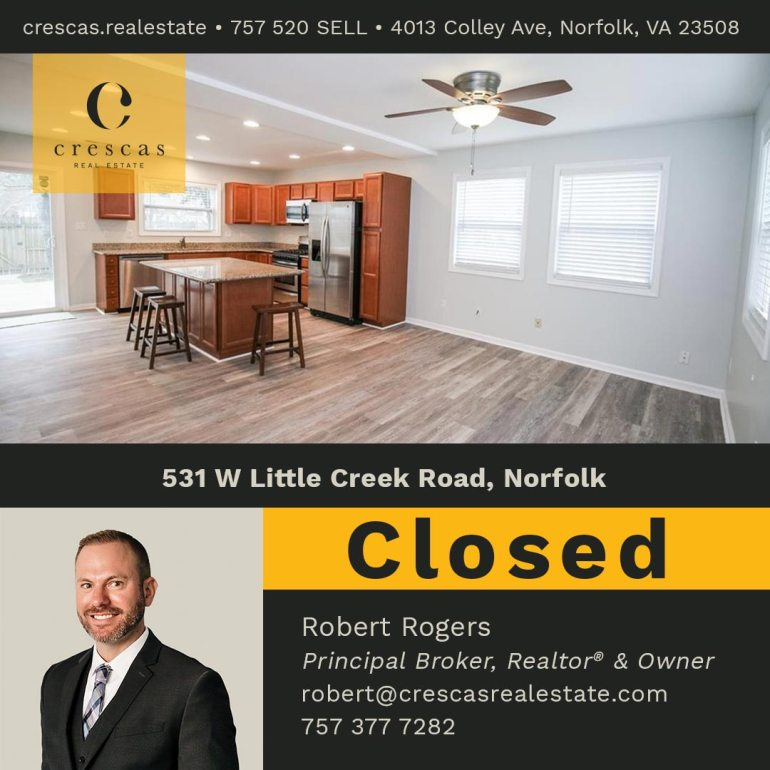 531 W Little Creek Road Norfolk - Closed