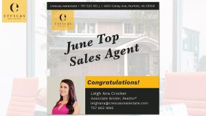 Top Sales Agent 2021-06 - Leigh Ana