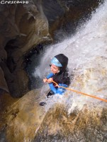 Canyoning découverte des Acles dans les Hautes Alpes (05)