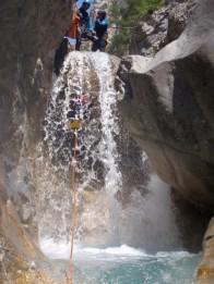 Canyon des Acles, Hautes-Alpes, initiation à sportif, à partir de 12 ans