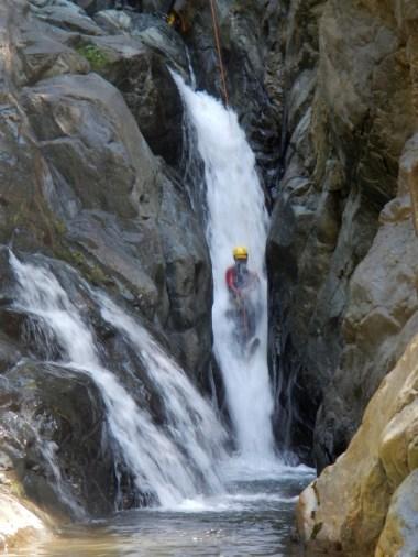 Canyonisme de Capri, piémont italien (départ Hautes Alpes), sportif, à partir de 14 ans