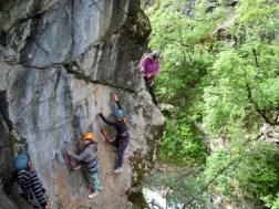 Découverte Via ferrata de Chateau-Queyras : initiation