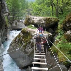 Via ferrata initiation dans les Hautes-Alpes - Pelvoux
