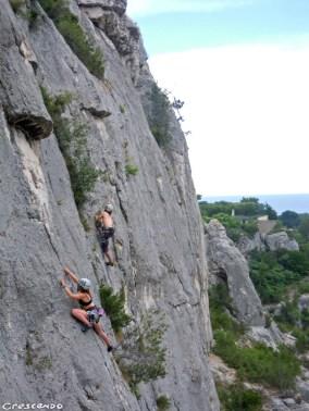 Stage Escalade Jeune - Calanques de Marseille / Cassis